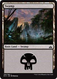Swamp - Foil - Rivals of Ixalan ()