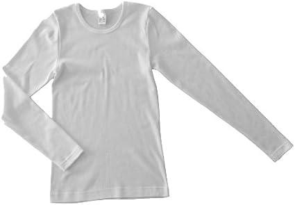 Bio-Baumwolle Jungen HERMKO 2830 3er Pack Kinder Langarm Unterhemd M/ädchen Weitere Farbe