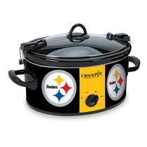 Official NFL Crock-pot Cook & Carry 6 Quart Slow Cooker -(Pittsburgh Steelers)