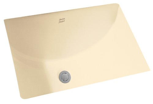 American Standard 614000.021 Studio Ceramic Undermount Rectangular Bathroom sink, 21.25