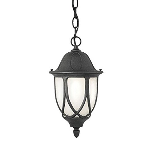 Designers Fountain 2864-BK Capella 11 Inch Hanging Lantern by Designers Fountain
