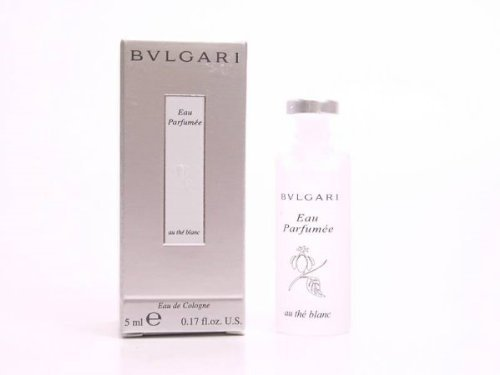Bvlgari White Tea (BVLGARI WHITE TEA * au blanc * mini perfume BULGARI)