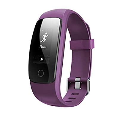 HFXLH Smart Heart Rate Bracelet Monitor Wristband Health Fitness Tracking For Android iOS Estimated Price £53.96 -