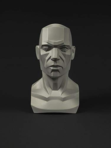 Male planar bust: 6.7 inch tall head sculptの商品画像