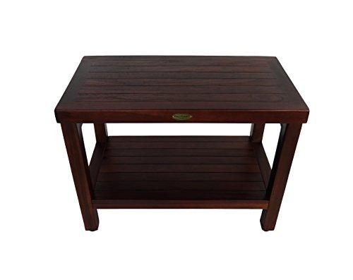 Teak Rustic Furniture Bench (Decoteak Eleganto 24