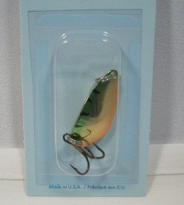 - Acme Little Cleo Fishing Terminal Tackle, 1/8-Ounce, Metallic Perch
