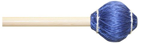 Mike Balter 23R Pro Vibe Series Medium Vibraphone Mallets with Rattan Handles, Blue (Keyboard Medium Mallets Series)