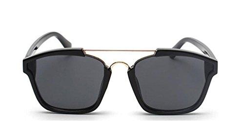 GAMT Square Mirrored Aviator Sunglasses Fashion Colored Frame - Sunglasses Dior Fake
