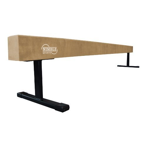 Nimble Sports Tan 8ft Long 18in High Balance Beam