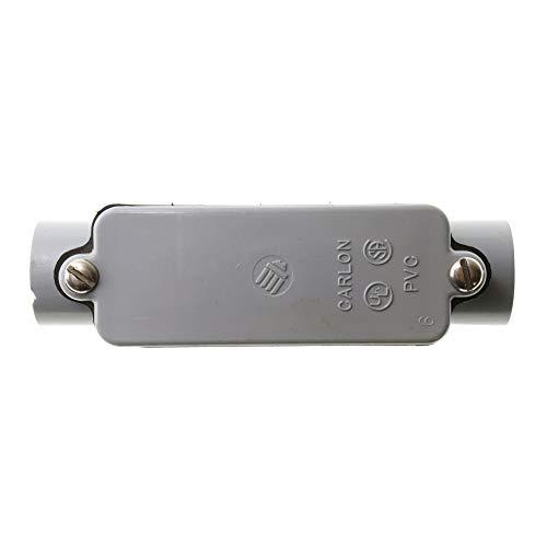 (Thomas & Betts E987D Carlon Rigid Non-Metallic PVC Type-C Conduit Access Body, 1/2