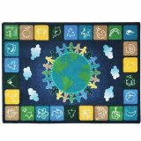 Joy-Carpets-Kid-Essentials-Geography-Environment-One-World-Rug-Neutrals-78-x-109