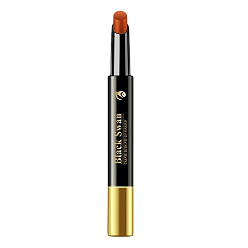 - 6 Colors Lipsticks for Women Semi-matte Velvet,Long-lasting Tint,Cream Lip Stain,All Natural Make-Up,Soft Smooth Results,Orange,Pink,Red (E)