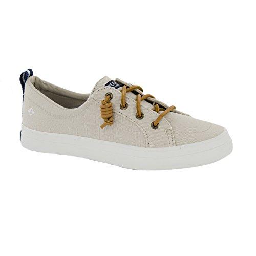 Sperry Top-sider Donna Crest Vibe Crepe Chambray Sneaker Avena