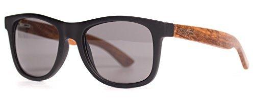 Yo / Matte Black & Kossowood / Smoke Polarized - Sunglasses Cassette