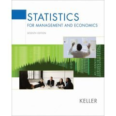 Statistics for Management and Economics- Text Only
