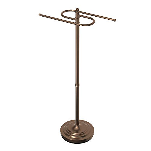Gatco 1508 Floor Standing S Style Towel Holder, Bronze by Gatco (Image #5)