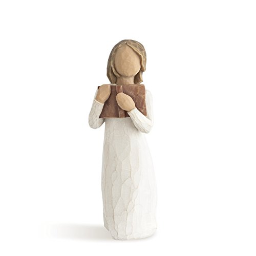 Willow Tree Love of Learning, sculpted hand-painted figure
