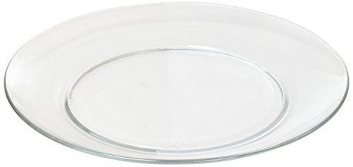 Duralex Made In France 3006AF06/4 Lys Dinnerware 9-1/4 Inch Dinner Plate. Set of 4