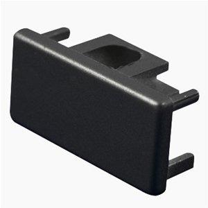 Jesco Lighting LECBK Accessory - End Cap, Track Options: L - 2-Wire Single Circuit Trac, Choose Finish: BK: Black
