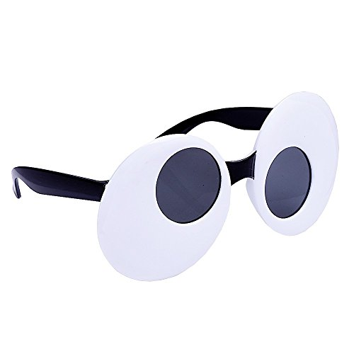Sunstaches Googly Eyes Sunglasses, Instant Costume, Party Favors, UV400]()