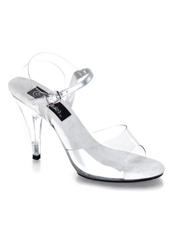 Pageant Clear Heel Sandal High Sexy zPqaw