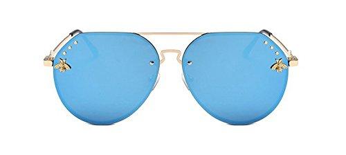 la Las de cortan de de Mercurio Las Gafas Blanco mercury Gafas Sol Blue Señora Chennnnnn Sol nq8U0wxX