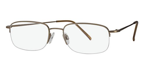 Flexon Flx 806Mag-Set Eyeglasses 905 Light Bronze Demo 54 19 140 ()