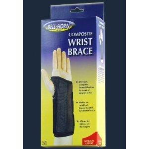 UPC 738384020726, Composite Wrist Brace in Black size: Medium, Wrist: Left