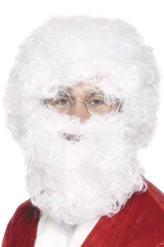 White Santa Beard and Wig Set Costume Accessory Beard Sets Character Wigs