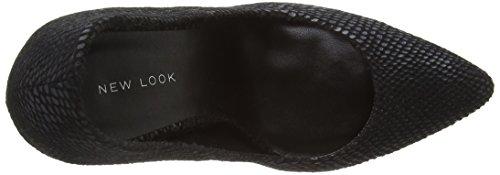 NewLookWar - Zapatos con tacón mujer Negro - Black (1/Black)