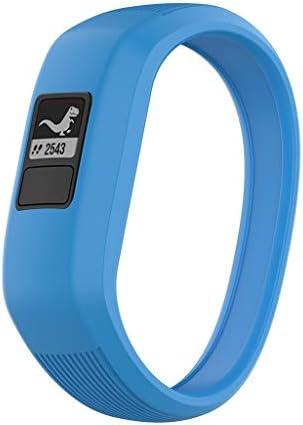 Shan-S Wrist Bands Compatible for Garmin Vivofit 3 Vivofit JRJR2 Smart Watch Fitness TrackerFashion Sport Soft Silicone Children`s Strap Quick Release Bracelet Replacement WristbandLargeSmall / Shan-S Wrist Bands Compatible for Gar...