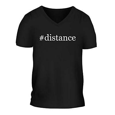 #Distance - A Nice Hashtag Men's Short Sleeve V-Neck T-Shirt Shirt