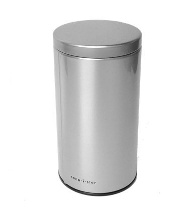 Cannister Airtight Smell Proof Stash Container For Herbs With Vacuum Seal Lid For Multi-Use & Best Private Storage (Silver)