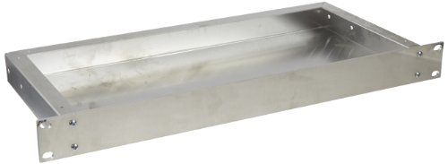 bud industries ch-14401pequeña (aluminio para montaje en rack chasis, 17' de ancho x 1–3/10.2cm altura x 8'...