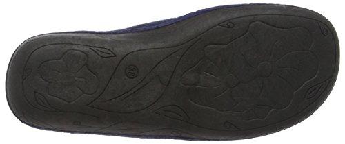 Lotus Damen Augusta Hausschuhe Blau (Marineblau)