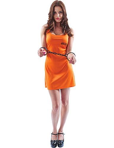Orange Convict Dress - Small