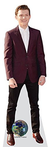 - Tom Holland (Maroon Blazer) Life Size Cutout