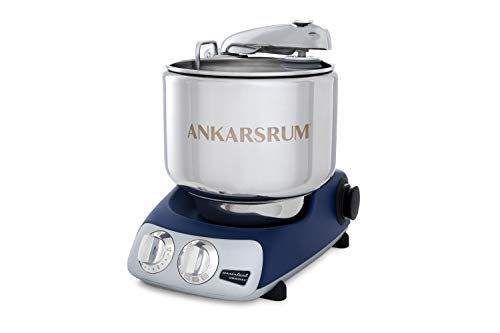 Ankarsrum Original 6230 Royal Blue and Stainless Steel 7 Liter Stand Mixer (Royal Appliance)