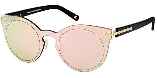 Ojo Modelo Gafas York Polarizados de de Óptica Calidad Gato Cateye New Pink Sol xXwE4wqCBO
