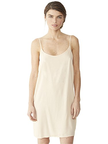 Alternative Women's Rayon Challis Slip Dress, Nude, Large