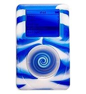 reEVOlutions iSkin eVo2 Silicone Skin Case for 40 GB iPod classic 4G (Wild Side Blue/White Swirl)