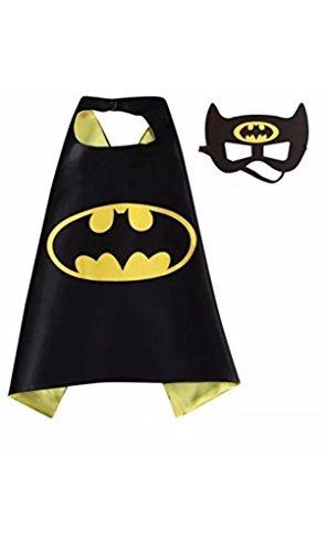SBK Kids Batman Cape and Mask Set Halloween