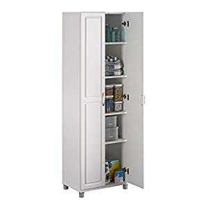 SystemBuild Kendall 24″ Utility Storage Cabinet – White