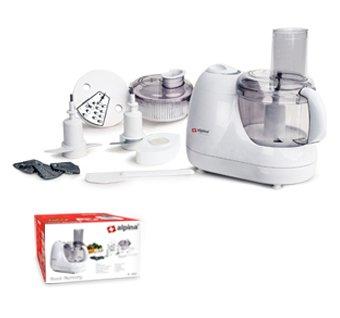 Alpina SF-4010 Food Processor, White