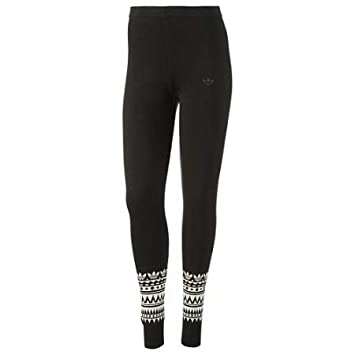 d821f41076a68 adidas Originals Womens Womens Patterned Leggings in Black - 6: adidas  Originals: Amazon.co.uk: Sports & Outdoors