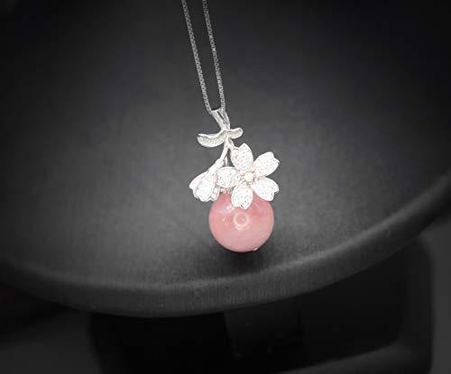 Women Rose Quartz pendant Minimalist Necklace Healing Love 4th Heart chakra Balance Calming Pink Gemstone Girlfriend Wife Her jewelry gift