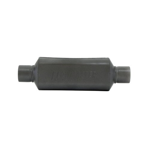 Flowmaster 12512409 (HP-2) 2.5'' Inlet x 2.5'' Outlet 409S Muffler with Aggressive Sound by Flowmaster