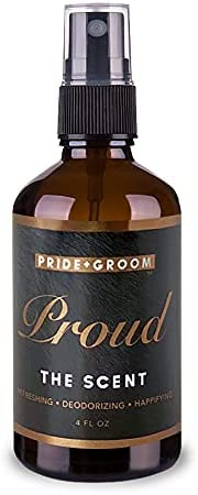 PRIDE AND GROOM - The Scent - Proud, Bottle of Pet Spray, 4 oz.