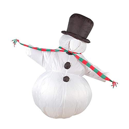 Snowman Inflatable Costume Suit Santa Claus Clothes Inflatable Toddler Costume ()