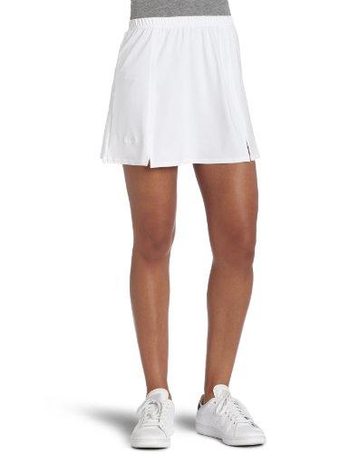 Bollé Women's Essential Notch Tennis Skirt, White, (Bolle Fashion Tennis Skirt)
